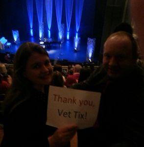 Craig attended Jim Brickman - Comfort and Joy Tour on Dec 20th 2016 via VetTix