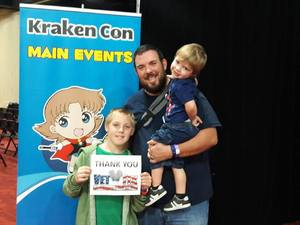 Click To Read More Feedback from Kraken Con - 3 Day Pass