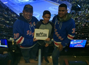 Click To Read More Feedback from New York Rangers vs. Vancouver Canucks - NHL