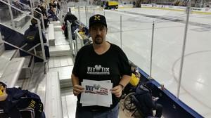 Click To Read More Feedback from University of Michigan Wolverines vs. USA Hockey National Development Program Team - NCAA Men's Hockey