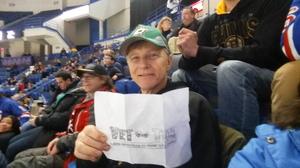 Paul Kelly DCC (SW) USN Ret attended Hartford Wolf Pack vs. Albany Devils - AHL on Dec 31st 2016 via VetTix