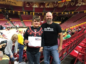 Click To Read More Feedback from Honor Row - ASU Lady Sun Devils vs. Oral Roberts - NCAA Women's Basketball