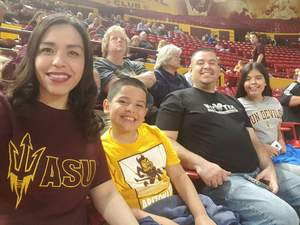 Click To Read More Feedback from Honor Row - ASU Lady Sun Devils vs. USC - NCAA Women's Basketball