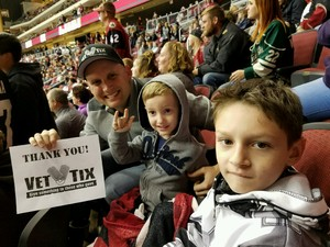 Click To Read More Feedback from Arizona Coyotes vs. Calgary Flames - NHL - Lower Level Seating