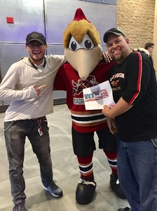Click To Read More Feedback from Tucson Roadrunners vs. San Antonio Rampage - AHL