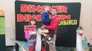 Daren attended Discover the Dinosaurs - Unleashed on Jan 21st 2017 via VetTix