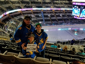 Click To Read More Feedback from San Jose Sharks vs. Arizona Coyotes - NHL - Golden State Warriors Alternate Jersey Night