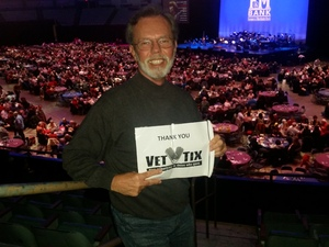 James attended The Nat King Cole Songbook - Presented by the Long Beach Symphony on Feb 18th 2017 via VetTix