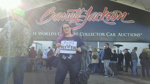 Hannah attended Barrett Jackson - the Worlds Greatest Collector Car Auctions - Saturday Only on Jan 21st 2017 via VetTix