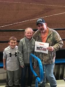 Click To Read More Feedback from PBR - 2017 Built Ford Tough Series - Sunday Only