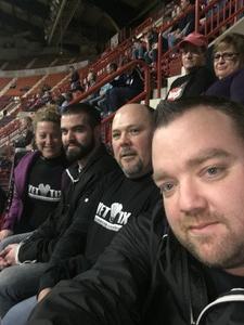 Chris attended Harrisburg Heat vs. Florida Tropics - Major Arena Soccer League on Feb 25th 2017 via VetTix
