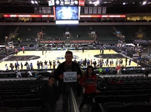 Larry attended Austin Spurs vs. Iowa Energy - NBA D-league Basketball - Military Appreciation Game on Feb 26th 2017 via VetTix