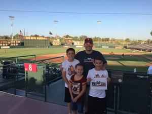 Click To Read More Feedback from Honor Row - Arizona State Sun Devils vs. Washington State - NCAA Men's Baseball - Friday
