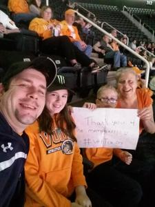 Click To Read More Feedback from Tennessee Volunteers vs. Georgia - NCAA Men's Basketball