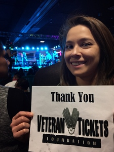 Giselle attended Conflict - Presented by Sparta Combat League Boxing on Feb 25th 2017 via VetTix