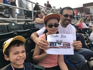 Click To Read More Feedback from Cleveland Indians vs. San Diego Padres - MLB Spring Training