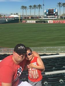 Click To Read More Feedback from Cincinnati Reds vs. Milwaukee Brewers - MLB Spring Training
