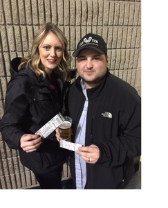 Russell attended Blake Shelton - Doing It to Country Songs Tour - Tacoma Dome on Feb 25th 2017 via VetTix