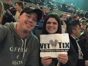 Stephen attended Blake Shelton - Doing It to Country Songs Tour - Tacoma Dome on Feb 25th 2017 via VetTix