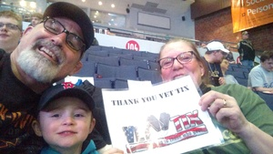 Christopher attended Rochester Americans vs. Utica Comets - AHL on Apr 8th 2017 via VetTix