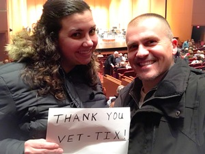 Buddy attended A Night at the Oscars - Presented the Lincoln Symphony Orchestra on Feb 25th 2017 via VetTix