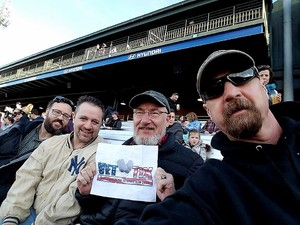 Hal attended Kane County Cougars vs. Clinton Lumberkings - MILB on Apr 7th 2017 via VetTix