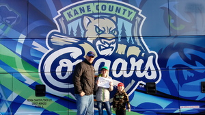 Mark attended Kane County Cougars vs. Clinton Lumberkings - MILB on Apr 7th 2017 via VetTix