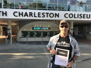 perry attended Tim McGraw and Faith Hill - Soul2Soul World Tour - North Charleston Coliseum on Apr 20th 2017 via VetTix