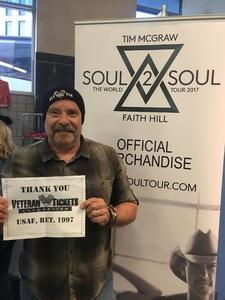 Click To Read More Feedback from Tim McGraw and Faith Hill - Soul2Soul World Tour - Scottrade Center