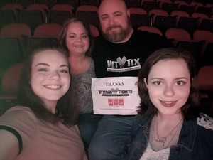 steve attended Tim McGraw and Faith Hill - Soul2Soul World Tour - KFC Yum! Center on Apr 28th 2017 via VetTix