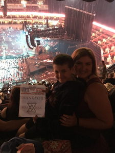MARK attended Tim McGraw and Faith Hill - Soul2Soul World Tour - KFC Yum! Center on Apr 28th 2017 via VetTix