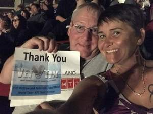 ronald attended Tim McGraw and Faith Hill - Soul2Soul World Tour - KFC Yum! Center on Apr 28th 2017 via VetTix