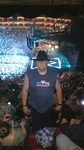 Chad attended Tim McGraw and Faith Hill - Soul2Soul World Tour - KFC Yum! Center on Apr 28th 2017 via VetTix