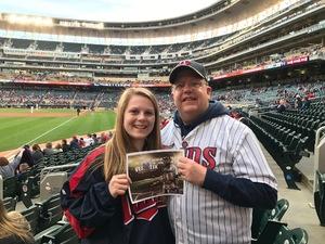 Scott attended Minnesota Twins vs. Cleveland Indians - MLB on Apr 17th 2017 via VetTix