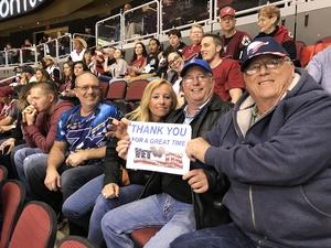 Click To Read More Feedback from Arizona Coyotes vs. Colorado Avalanche - NHL