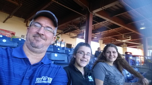 Kevin attended Clearwater Threshers vs. Dunedin Blue Jays - MILB on Apr 7th 2017 via VetTix
