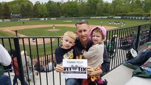 Johnathan B attended Michigan State Spartans vs. Michigan - NCAA Baseball on May 20th 2017 via VetTix