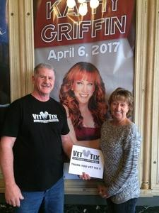 Click To Read More Feedback from Kathy Griffin Live at the Strand-capitol Performing Arts Center