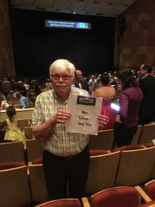 Larry attended Cinderella - Arizona Opera - Sunday on Apr 9th 2017 via VetTix