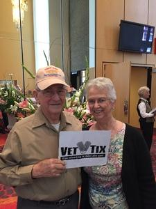 Thomas attended Cinderella - Arizona Opera - Sunday on Apr 9th 2017 via VetTix