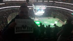 Michael attended Dallas Stars vs. Arizona Coyotes - NHL on Apr 4th 2017 via VetTix