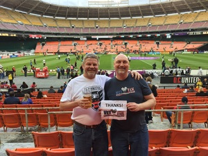 Andrew attended DC United vs. Philadelphia Union - MLS on Apr 1st 2017 via VetTix