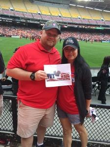 Dale attended DC United vs. Chicago Fire - MLS - Armed Forces Day on May 20th 2017 via VetTix
