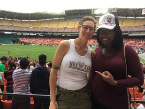 Jessica attended DC United vs. Chicago Fire - MLS - Armed Forces Day on May 20th 2017 via VetTix