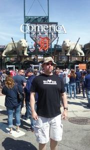 Steve attended Detroit Tigers vs. Boston Red Sox - MLB on Apr 9th 2017 via VetTix