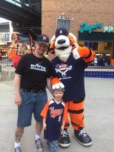 Dennis attended Detroit Tigers vs. Boston Red Sox - MLB on Apr 9th 2017 via VetTix