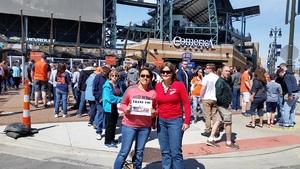Yvonne attended Detroit Tigers vs. Boston Red Sox - MLB on Apr 9th 2017 via VetTix