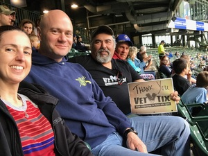 Manuel attended Milwaukee Brewers vs. Cincinnati Reds - MLB on Apr 25th 2017 via VetTix