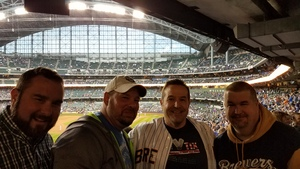 Brian attended Milwaukee Brewers vs. Cincinnati Reds - MLB on Apr 25th 2017 via VetTix