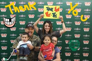 Click To Read More Feedback from Texas Stars vs. Stockton Heat - American Hockey League - Military Appreciation Game